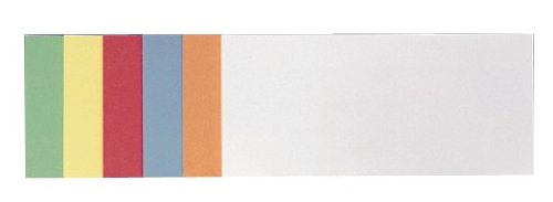 Franken UMZ 1020 99 Moderationskarte (Rechteck) 205 x 95 mm, 500 Stück, sortiert