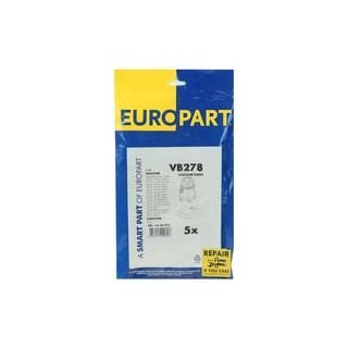 Europart Vb278 Dustbags Hoover Aquaplus Canister, X5