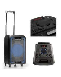 NGS Wild Metal - Altavoz Portátil con Bluetooth (MP3, WMA, Real Audio) Color Negro