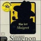 Buchseite und Rezensionen zu 'Hier irrt Maigret. Krimi. 1CD.' von Georges Simenon