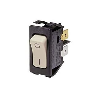 ARCOLECTRIC SWITCHES C1250APAAB SWITCH, ROCKER, DPST, 10A, 250VAC by ARCOLECTRIC SWITCHES