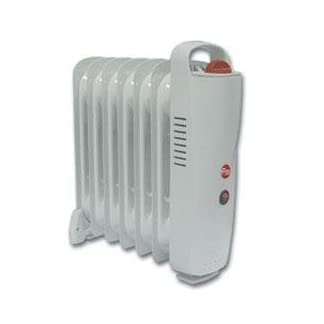 FM RW-Mini Radiador, 900 W, Blanco