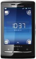 Sony Ericsson X10 mini Smartphone (6,5 cm (2,5 Zoll) Touchscreen, 5 Megapixel Kamera, Android 1.6) schwarz/weiß X10 Mini Pro
