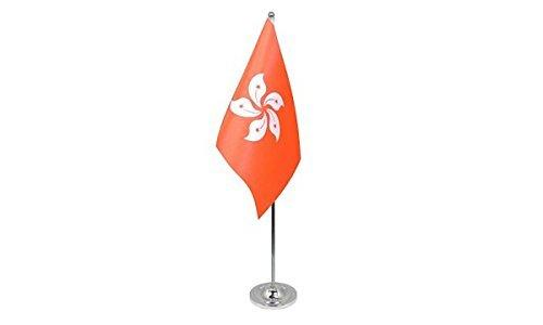 gizzy-r-hong-kong-nouveau-9-cm-x-6-cm-drapeau-de-table-en-satin-avec-perche-telescopique-et-base-chr