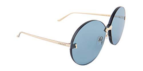 Gucci Sonnenbrillen GG0353S GOLD/BLUE Damenbrillen