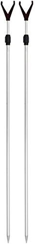 ARAPAIMA FISHING EQUIPMENT Rutenhalter Rutenständer Angelzubehör Set 2 Stück Angel Teleskop Auflagen mit Schnurlaufkerbe - 2x - Boot Für Fisch-rod-halter