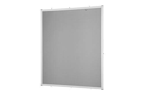 Insektenschutz Fliegengitter Fenster Alurahmen Master Slim Zuschnitt weiß, braun oder anthrazit in verschiedenen Größen