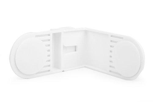 HSN Kindersicherung für Schränke und Schubladen, selbstklebend, 6 Stück