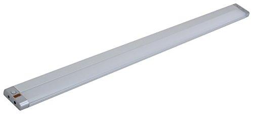 MÜLLER LICHT LED-Unterbauleuchte Olus Sensor, höchsten Lichtkomfort in der Küche, wechseln zwischen indirektem Licht (3000 K) oder direktem Licht (4000 K), per Bewegungssensor dimmbar, 80 cm Länge