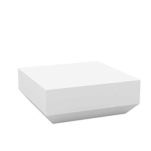 Vondom Vela Chill table basse 80 cm blanche