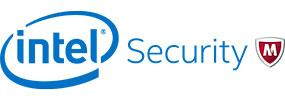 Logo: McAfee. Part of Intel Secuirty