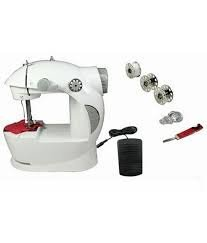 By Goank Portable & Compact 4 in 1 Electric Sewing Machine