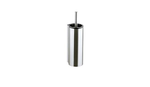 Keuco WC-Bürstengarnitur Plan 14964 verchromt mit Kunststoff-Einsatz schwarz