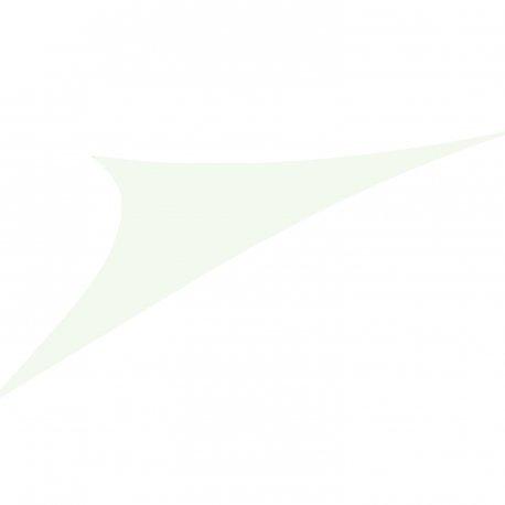 Easywind - Voile d'ombrage 400x400x570cm - Toureillo - Forme Triangulaire, Coloris Ecru, Tissu Extensible