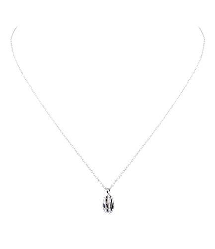 Kostüm Schmuck Silber Halskette - SIX Damen Kette, Gliederkette 925er Silber,