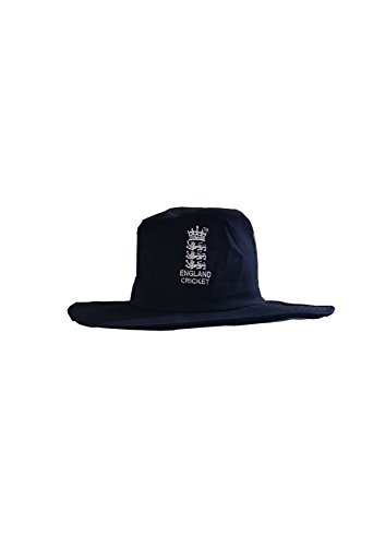 NAVY BLUE JUNIOR SUNHAT WITH ENGLAND LOGO ST GEORGE FLAG ON SIDE S/M 52=54CM