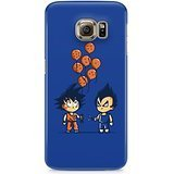Dragon Ball Z Chibi Vegeta And Goku Hard Plastic Snap-On Case Skin Cover For Samsung Galaxy S6
