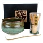 Tea Ceremony Set Bowl and Whisk HS by Happy Sales