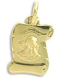 Echt 14 Karat Gold 585 Anhänger Schutzengel (Art.213421) GRATIS-SOFORT-GRAVUR