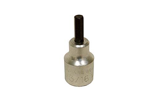 Lisle LIS13630in Ledersäckchen in. Antrieb Hex Bit Sockel 0,19in. -