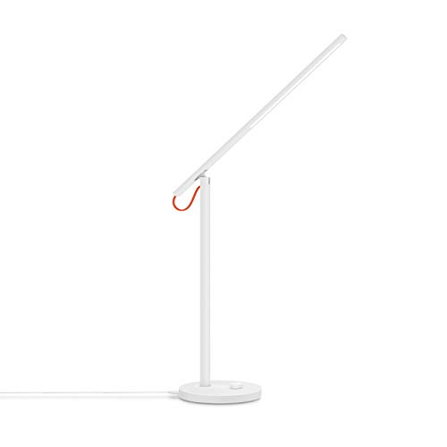 Xiaomi Lampada da Scrivania LED Smart, Mi LED Desk Lamp, 6W, 4 Modalità di Luce, Temperatura Colore Regolabile, Controllabile in Remoto, Bianco [Versione Italiana]