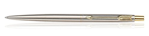 parker-classic-stainless-steel-ballpoint-ball-pen-chrome-gold-clip-gt