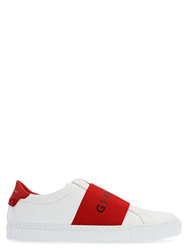 Givenchy Femme Be0005e0eb112 Blanc Cuir Chaussures De Skate