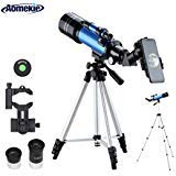 Aomekie Télescope Astronomique pour Adultes 70/400 Lunette Astronomique...