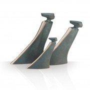 Bronze Skukptur Gemeinsam in die Zukunft, Kött-Gärtner