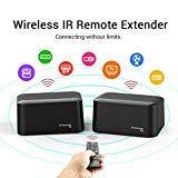 EMEBAY - PAKITE IR Remote Extender,IR Repeater Infrarot Verlängerung Infrarot-Extender zur Erweiterung mit 1 Empfänger und Transmitter USB-Stromversorgun Batteriebetrieben 1080P