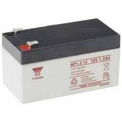 Yuasa NP1.2-12 - Valve regulated lead acid (12 warranty) Valve-regulated Lead