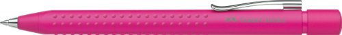 Preisvergleich Produktbild Faber-Castell 144128 - Kugelschreiber GRIP 2011, Mine: M, Schaftfarbe: frosted pink