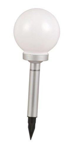 Globo IP44LED weiß Kunststoff Solar Globe Lampe (Kunststoff Globe Lampe)