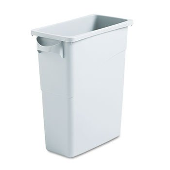 slim-jim-waste-container-w-handles-rectangular-plastic-15-7-8-gal-light-gray-sold-as-1-each
