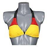 Cepewa - Bikini-Oberteil Deutschland Deluxe