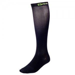 Performance Kompressions Socken (EIGO Kompression Recovery Socken Schwarz Medium)