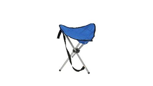 Dreibeinhocker, 3-Bein-Hocker Camping-Stuhl Dreibein-Hocker 50cm Sitzhöhe handlich und leicht faltbar wir liefern sortiert blau oder schwarz oder grau