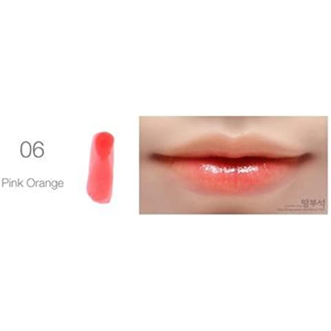 Liquid Moly Cherry Pink Lip Tint Stain Magic Lip Plumper Nature Long Lasting Moisturizing Matte Lipstick #6 by Honey cosmetics