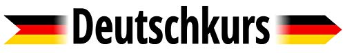 "Alu-Dibond-Bild 190 x 30 cm: ""Deutschkurs"", Bild auf Alu-Dibond"