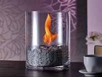 Carlo Milano Decorative Fire Kasra with Decorative Bioethanol Fire