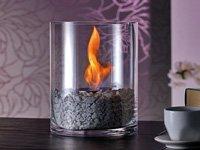 *Design Lounge Feuer mit Bio-Ethanol Dekofeuer,Glasfeuer*