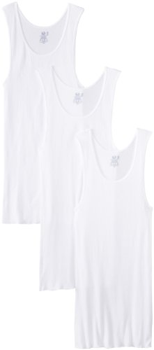 Fruit of the Loom Men'sBig Man White A-Shirt(Pack of 3)