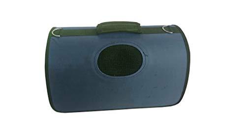 Lalia Hundebox Katzenbox Haustier Transportbox klappbare Autobox 40x25x26 cm gepolstert Katzen Henkel Tragetasche weich stabil Hunde Box