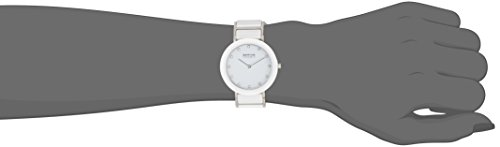Bering Time  Part Ceramic – Reloj de cuarzo para mujer, con correa de diversos materiales, color multicolor