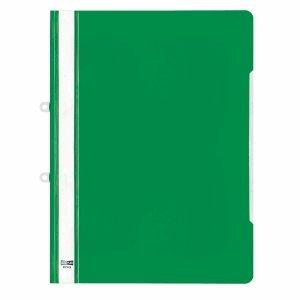 4745 Grün (VELOFLEX 20 x Angebotshefter A4 grün mit Abheftschieber)