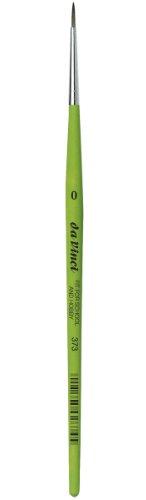 Da Vinci 373Serie RUND Pinsel, synthetische Fasern, grün, 18x 0,16x 30cm