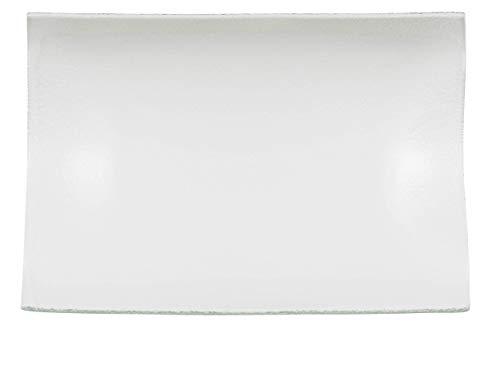 Villeroy & Boch Cera Plat de service, 31,9x21,8 cm, Verre, Transparent