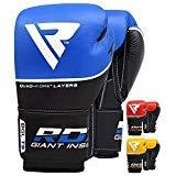 RDX Ace Boxhandschuhe Muay Thai Training Sparring Kickboxen Boxsack Sandsack Rindsleder Leder Boxhandschuhe