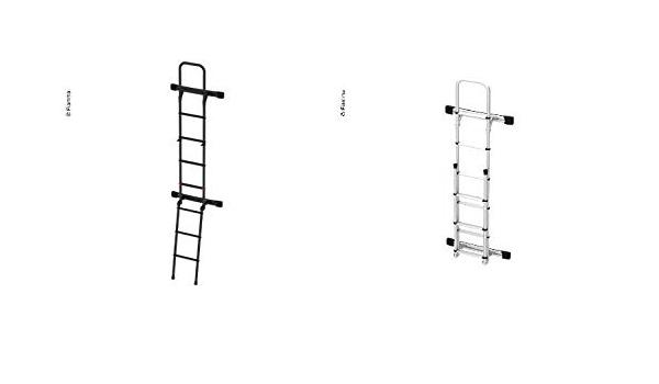 Fiamma Leiter Deluxe Sprinter Deep Black Version Heckleiter Aufstiegsleiter 932944442 Küche Haushalt