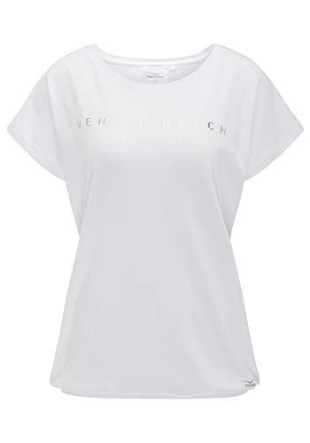 Venice Beach Damen Wonder Bodyshirt T-Shirt, weiß, L